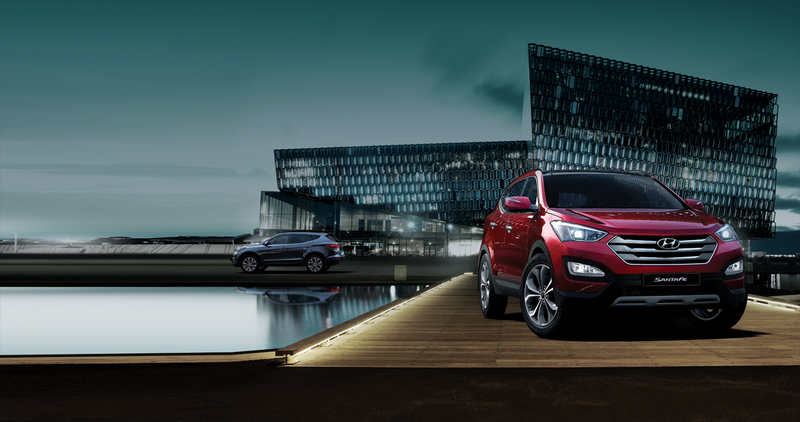 New Sante Fe has arrived