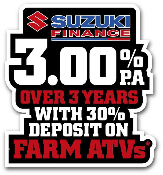 Suzuki extends farm ATV finance offer