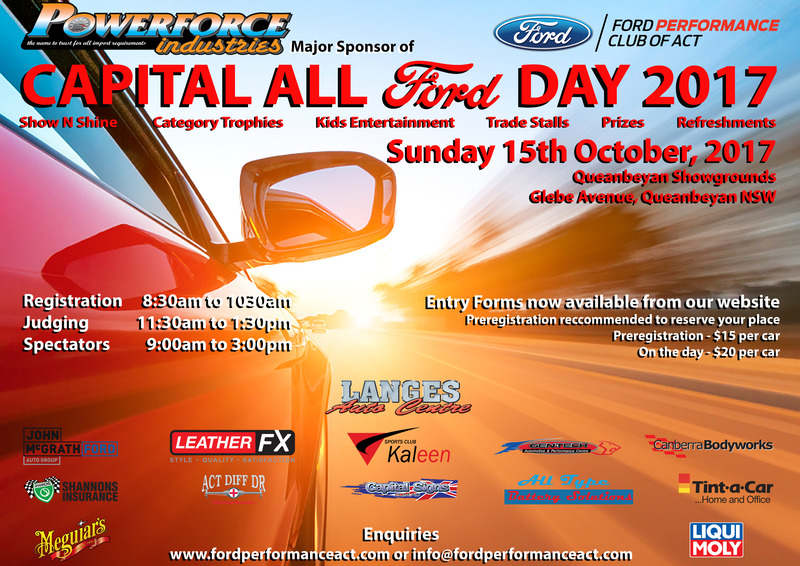 Capital All Ford Day 2017