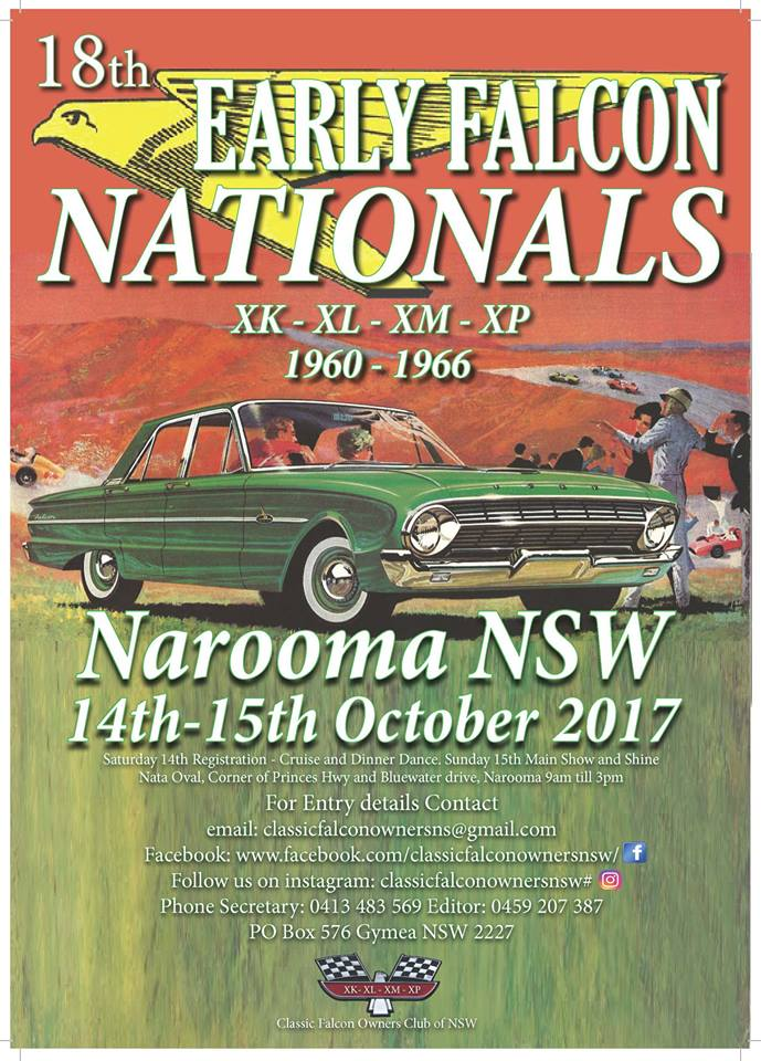 18th Early Falcon Nationals flyer