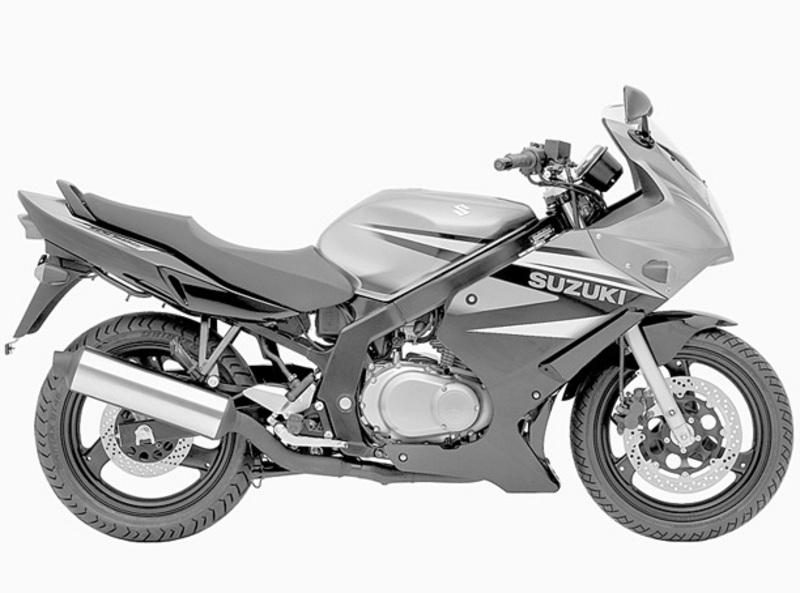 Side view of Suzuki GS500