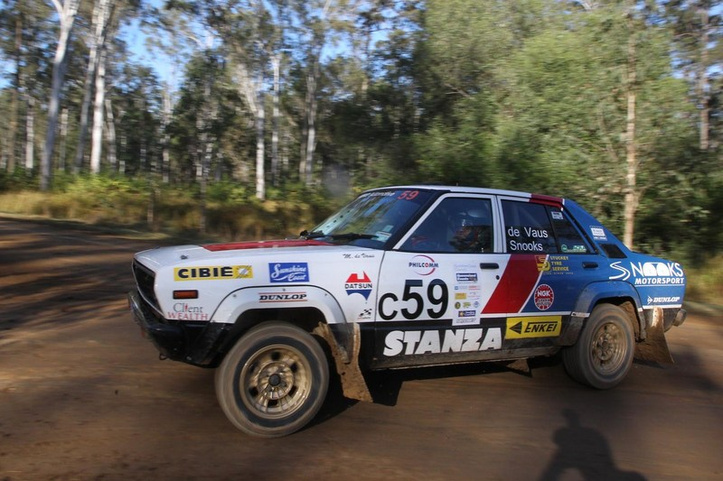 Classic rally car nats at ARC