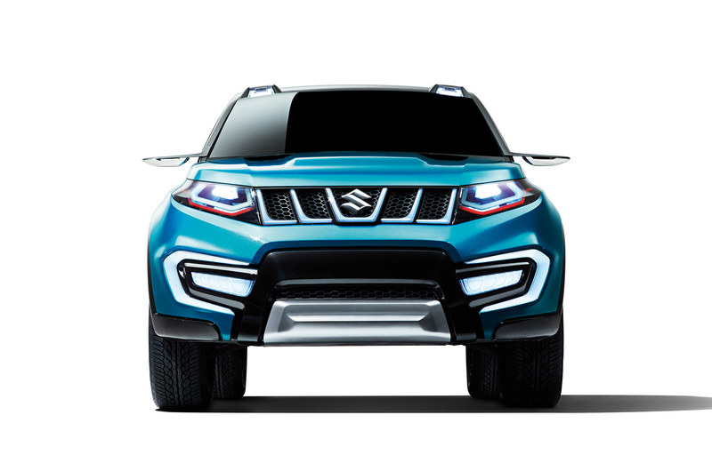 """Suzuki reveal new """"iV-4"""" compact SUV front view"""