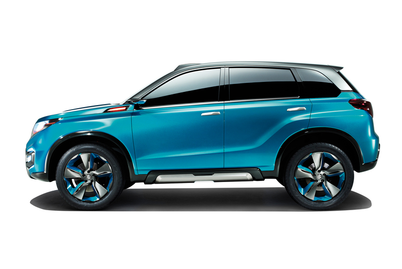 """Suzuki reveal new """"iV-4"""" compact SUV side view"""