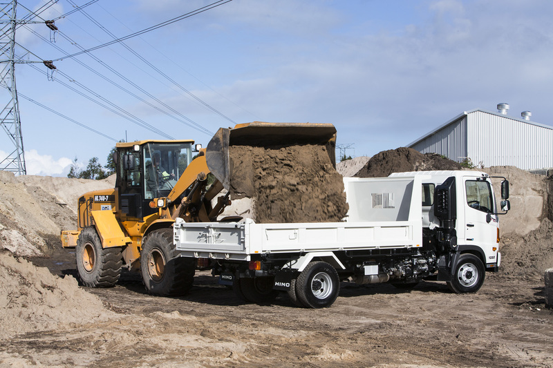 Hino launch 'Rate Breaker' finance for tippers and tilt trays