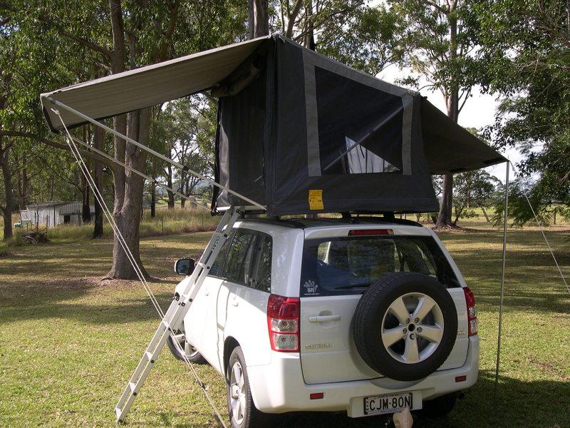 Bushcamper full-length tent