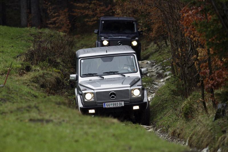 Mercedes-Benz G-Wagon rolls in