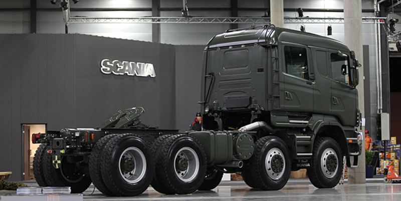 Scania AWD heavy haulage tractor