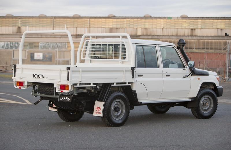 Toyota launch 70 Series Landcruiser Dual Cab