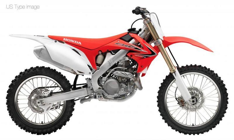 Honda 2012 CRF450R side view