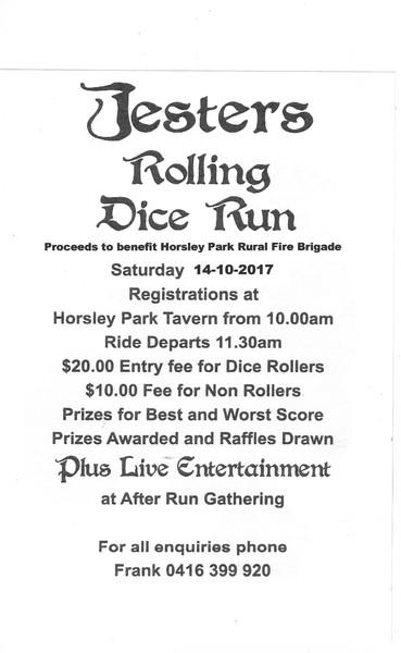 Jesters Rolling Dice Run