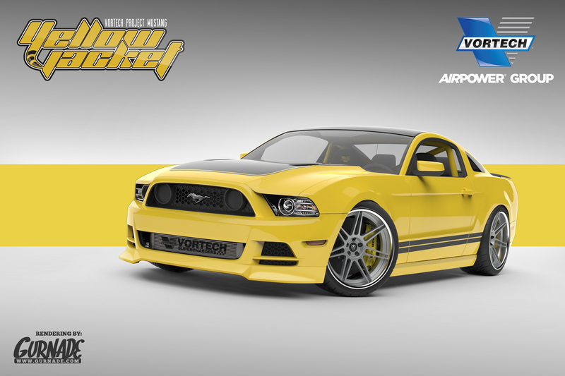 Yellow Jacket' Mustang