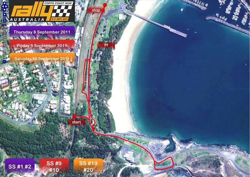WRC Rally Australia - Saturday Special Stages