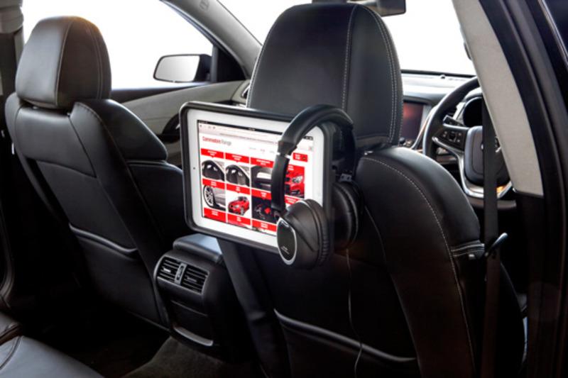 Holden Black Edition Colorado ute interior