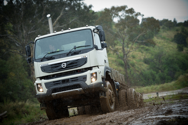 Volvo introduces FMX heavy transport