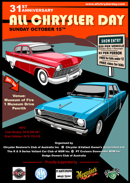 All Chrysler Day flyer