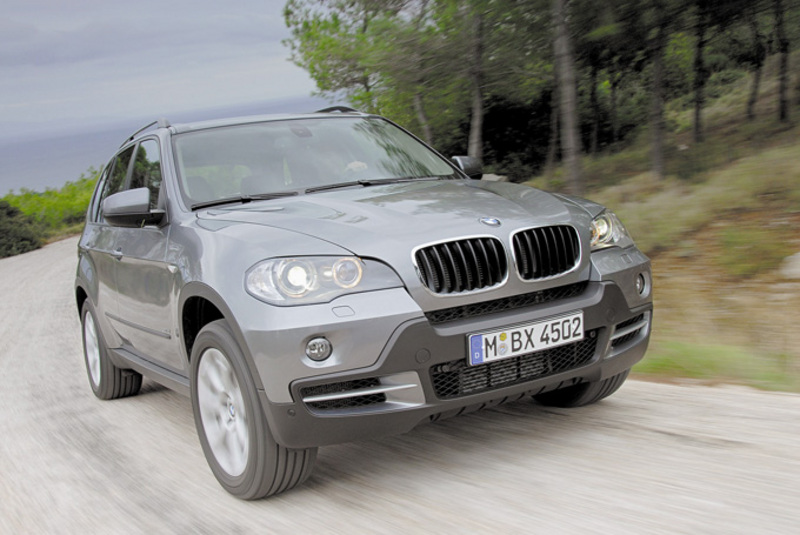 grey 2007 BMW X5