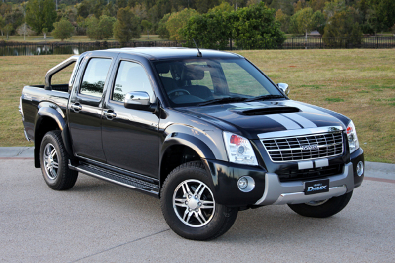 D-Max Black and White limited edition 4x4 Utes