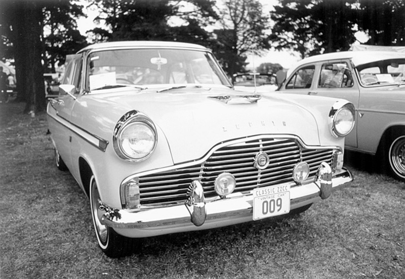 1954 Ford Zephyr front view