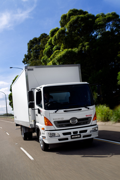 Hino adds ProShift auto trans to 500 Series models