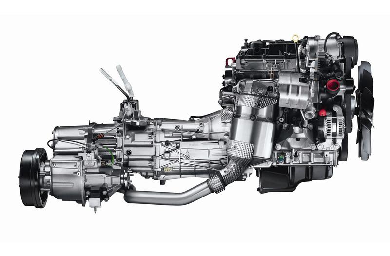 2012 Defender engine and transmission