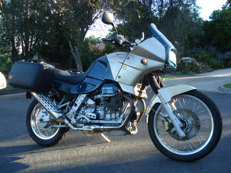 1998 Moto Guzzi Quota 1100 ES Specifications