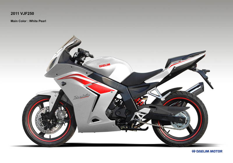 2012 Daelim VJF 250 to be released at Sydney Motorcycle Show