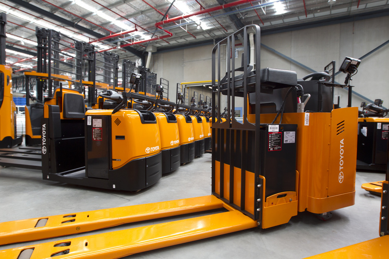 Toyota 8FBN Series Electric forklifts