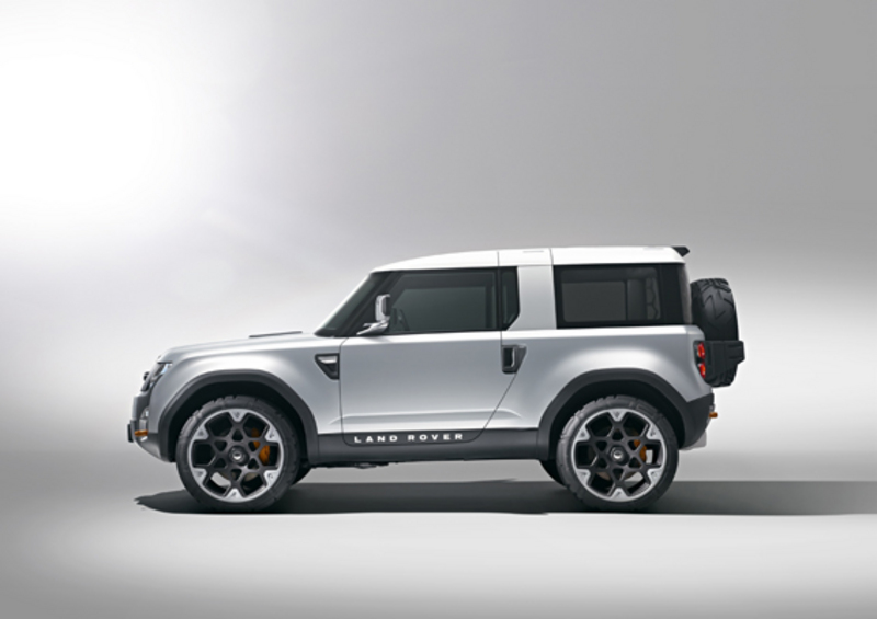 Land Rover Defender DC100 Concept side view