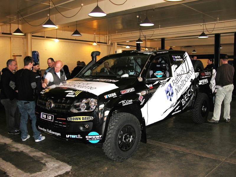 VW Amarok to debut in 2012 Australasian Safari
