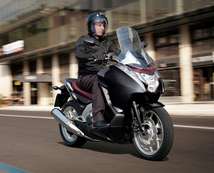 A Honda Integra scooter