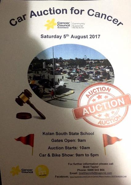 Charity Auction & Free Car Bike Show