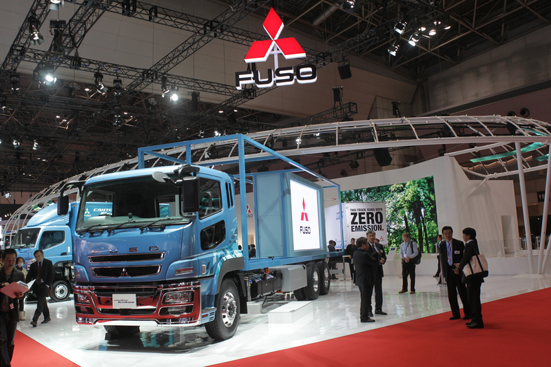 Fuso Canter Eco Hybrid