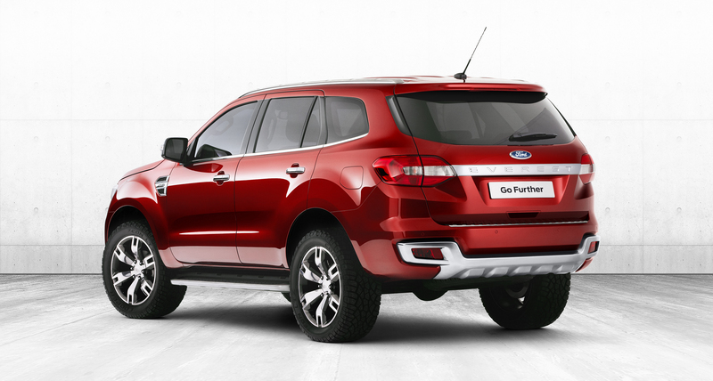 Ford 'Everest' concept SUV