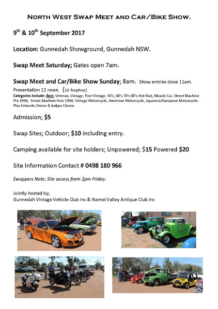 North West Swap Meet and Car/Bike Show