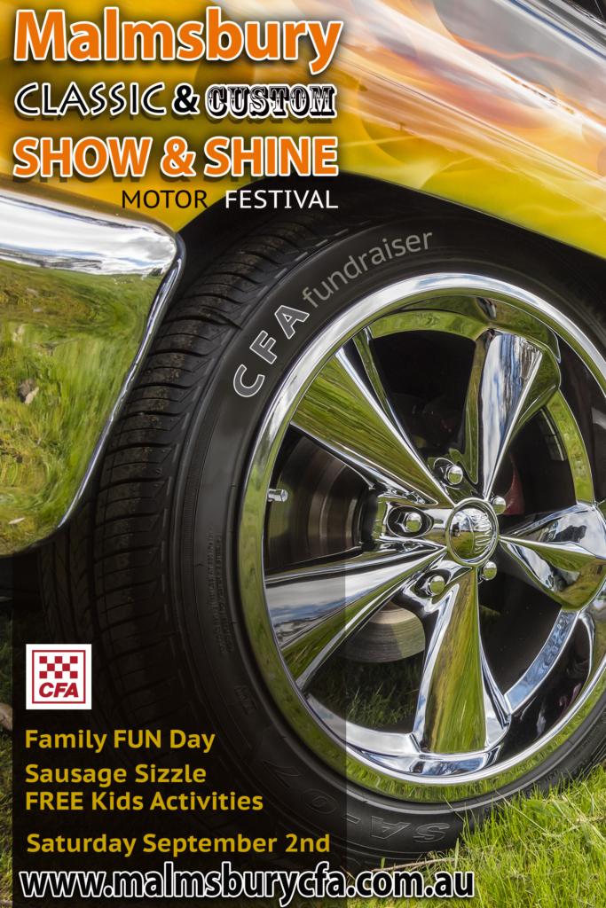 Malmsbury Motor Festival flyer