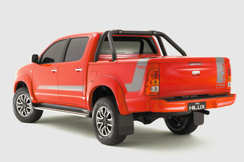 Red TRD HiLux