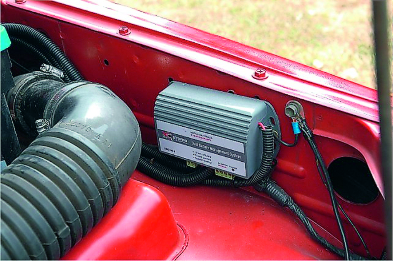 Suzuki Sierra/Vitara dual battery manager 1