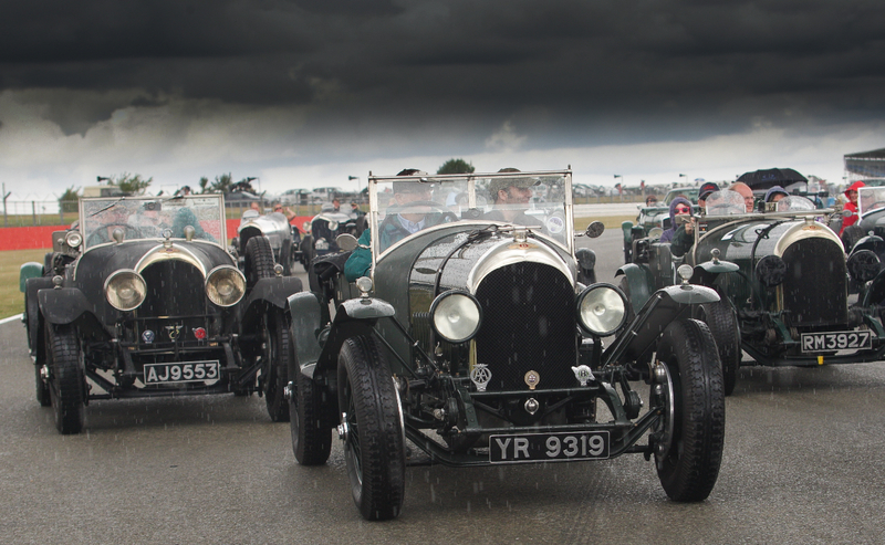 Bentley's at Silverstone