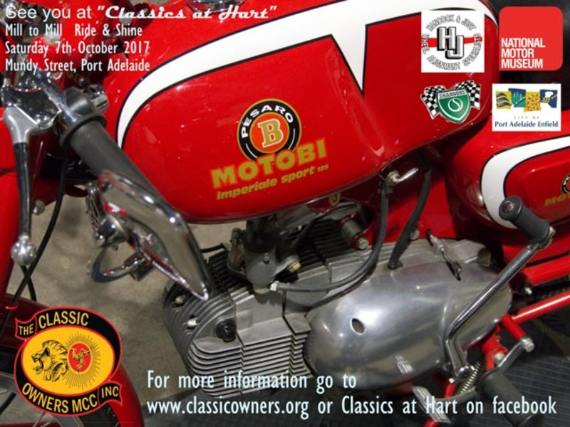 Classics at Hart Mill to Mill Ride & Shine