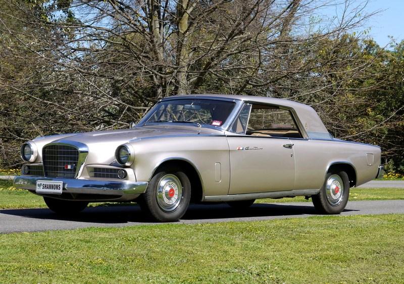 1963 Studebaker Hawk Gran Turismo coupe