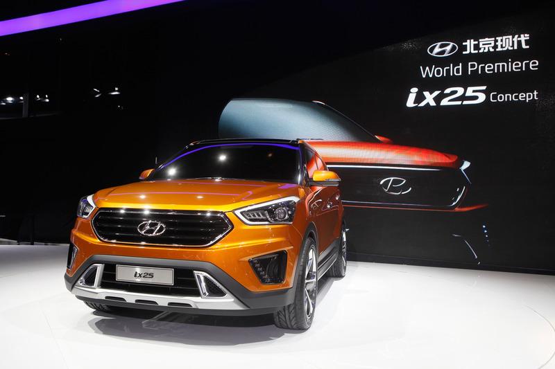 Hyundai unveil 'ix25' concept at Beijing Motor Show