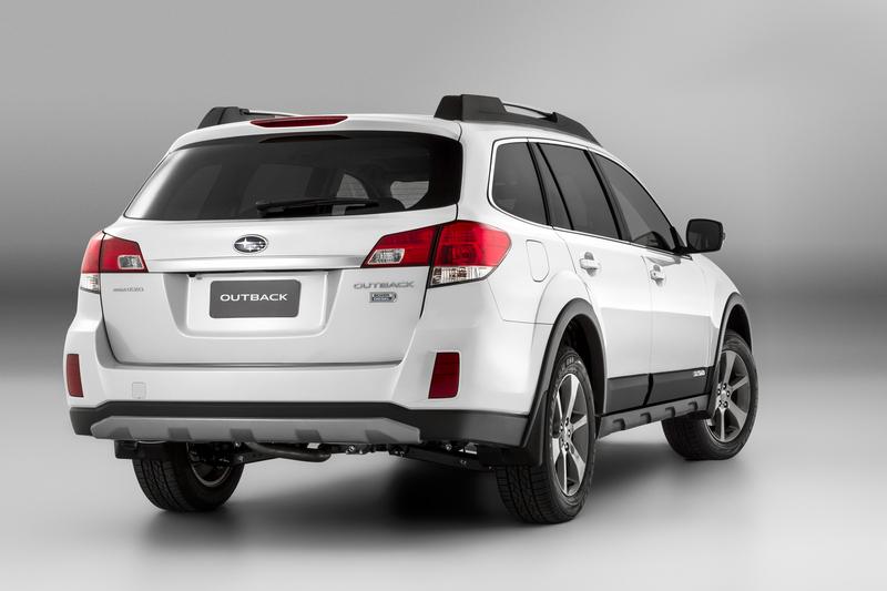 Subaru Outback rear view