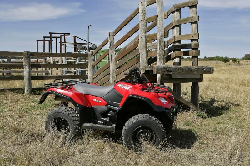 Suzuki extends bonuses on farm ATVs