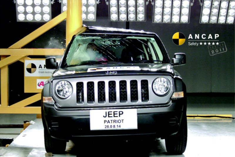 Front, Jeep Patriot