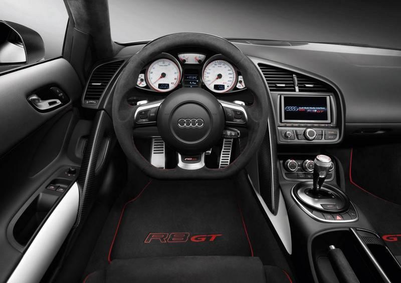 Firstborn: Audi R8 GT delivered