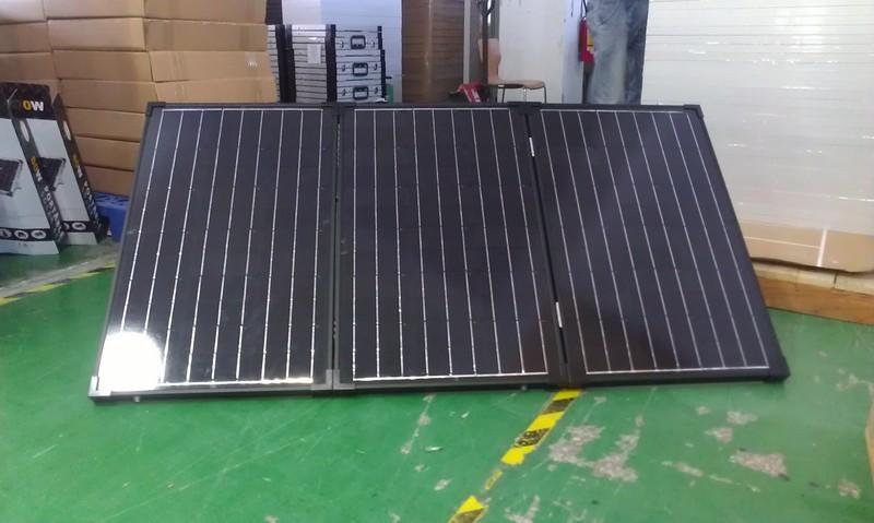 ACE portable folding solar panels