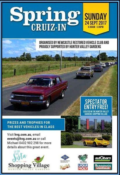 Spring Cruiz-In flyer