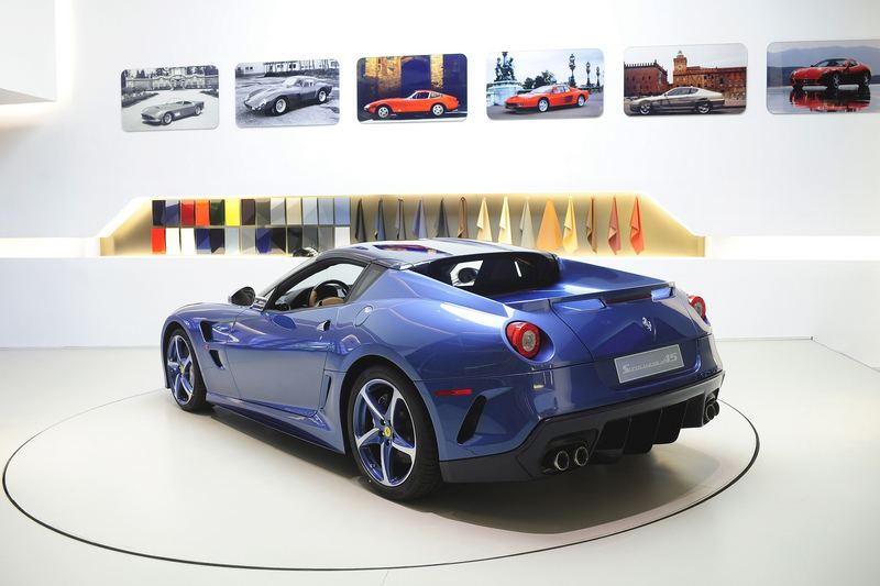 Ferrari Superamerica 45 rear angle