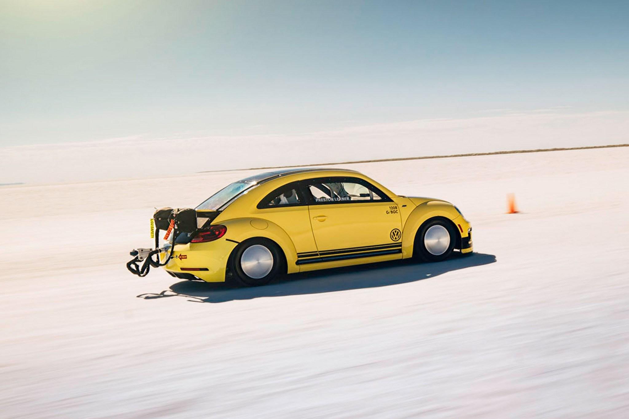 World's Fastest Volkswagen Beele Hits 328KM/H